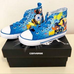 DC Superhero Girls converse sneakers